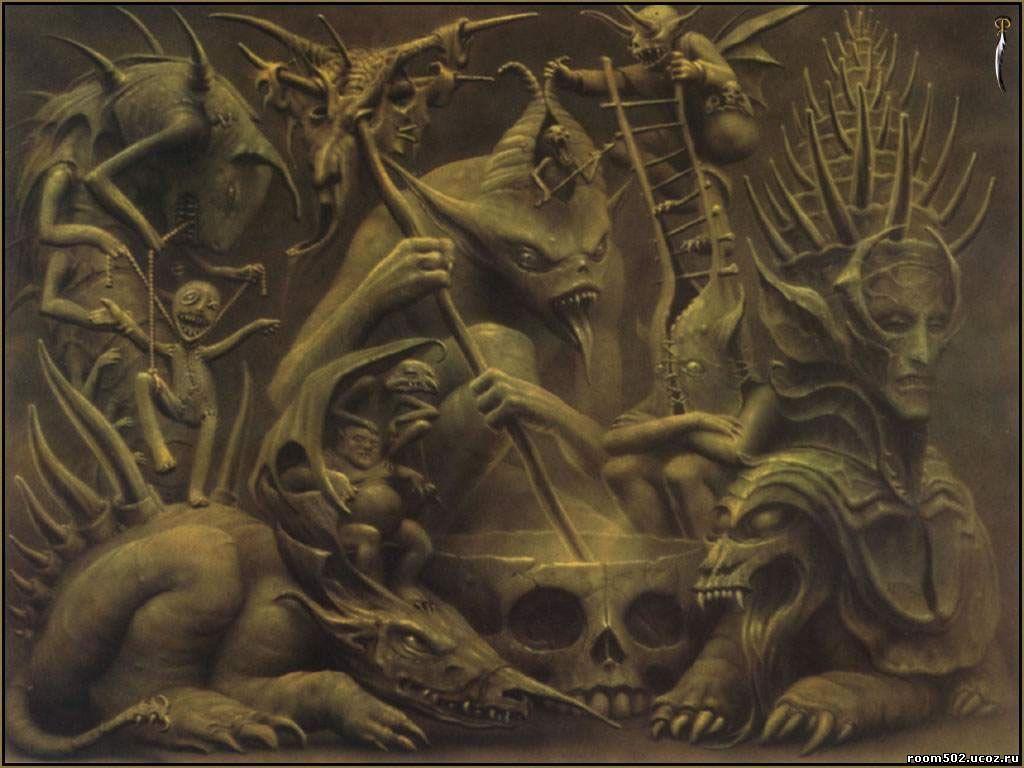 Как использовалась наука о ангелах и демонах?
